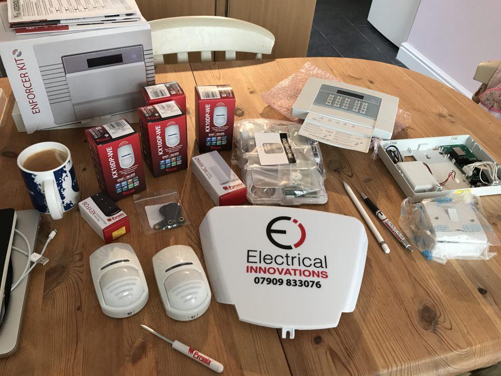 Wireless Burglar Alarms installed in Derby