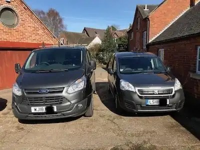 two new vans