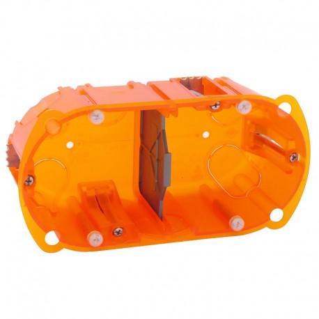 legrand boite d encastrement multi materiaux batibox prof 50 mm 2 postes ref 080122