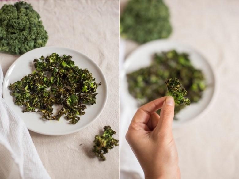 Chips de Couve Kale //  Um snack delicioso, crocante e low carb