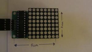 8X8 Matrix Display