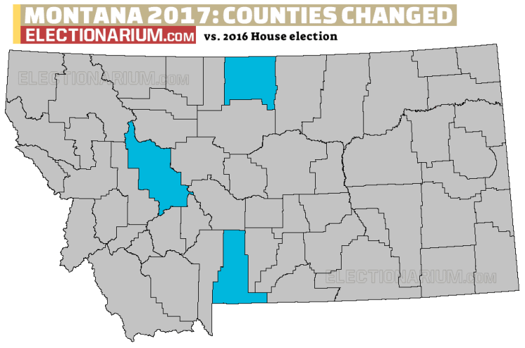 Montana Special Election county map changes