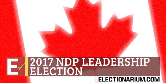 2017 NDP Leadership Race