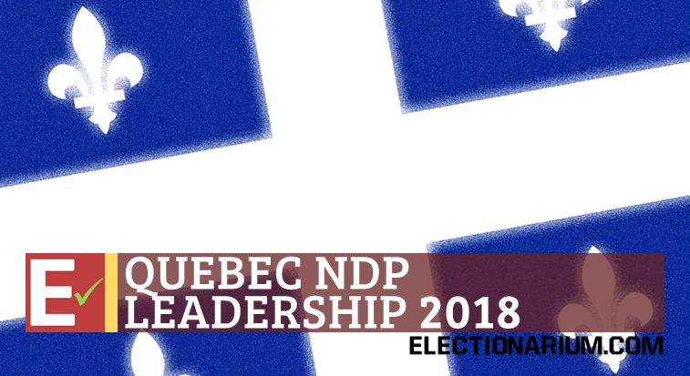 Quebec NDP Leadership Election 2018