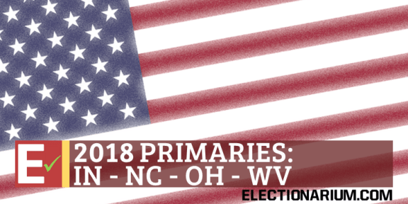 2018 West Virginia Primary IN NC OH