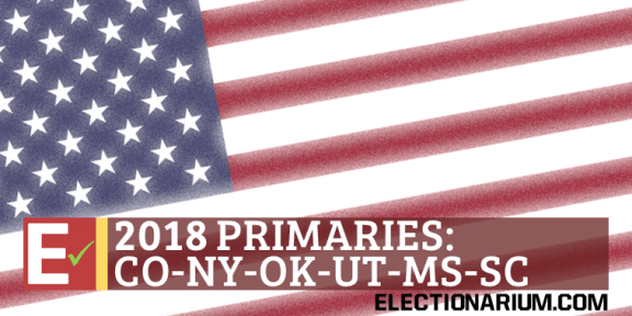 2018 Colorado Primary NY OK UT MS SC