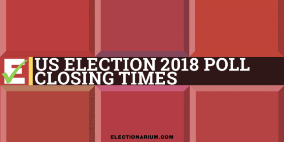 US election 2018 Poll closing times