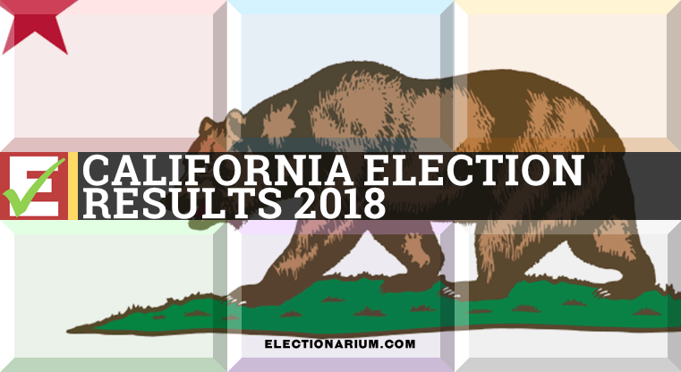 California Election Results 2018