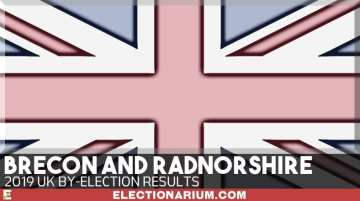 Brecon and Radnorshire 2019 Byelection Results