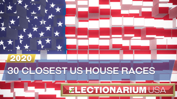 The 30 Closest US House Races in 2020