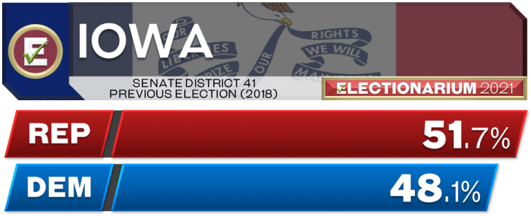 Iowa Senate 41st District 2018 Election