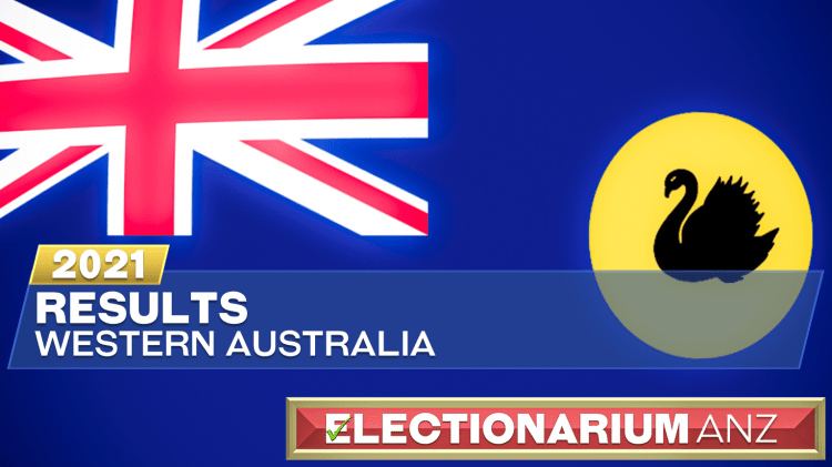 2021 Western Australia Election - Results