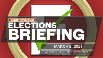 Elections Briefing, March 8, 2021: Wisconsin Times Two, California, Scotland