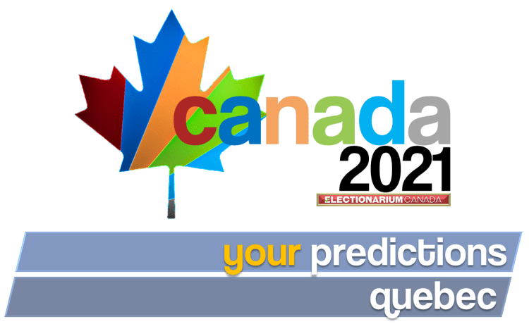 2021 Canadian Election - your predictions Quebec
