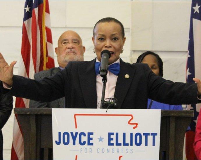 Joyce Elliott, Democratic nominee in AR-02