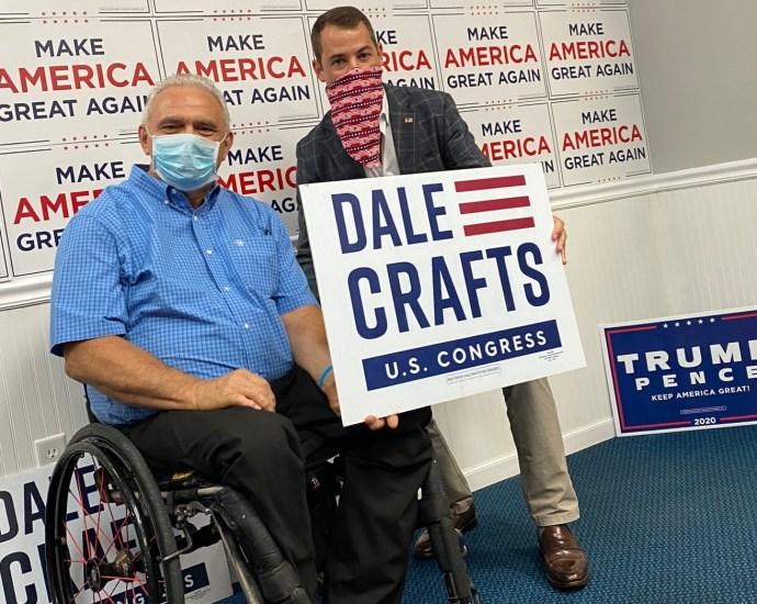 ME-02 candidate Dale Crafts