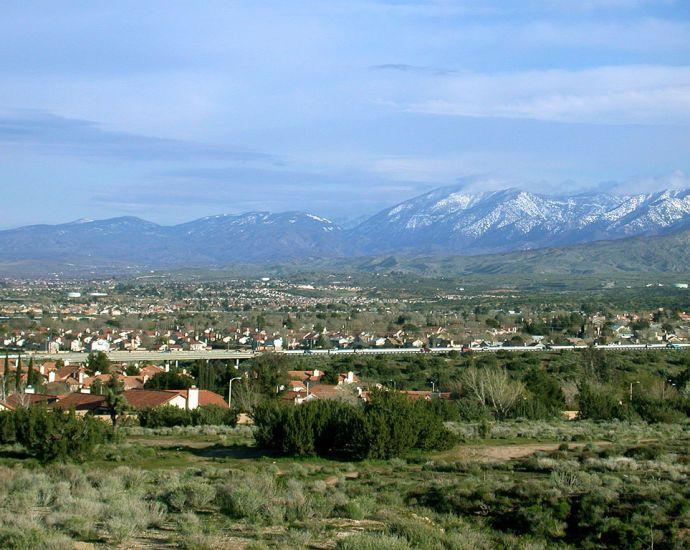 Palmdale, a key city in CA-25