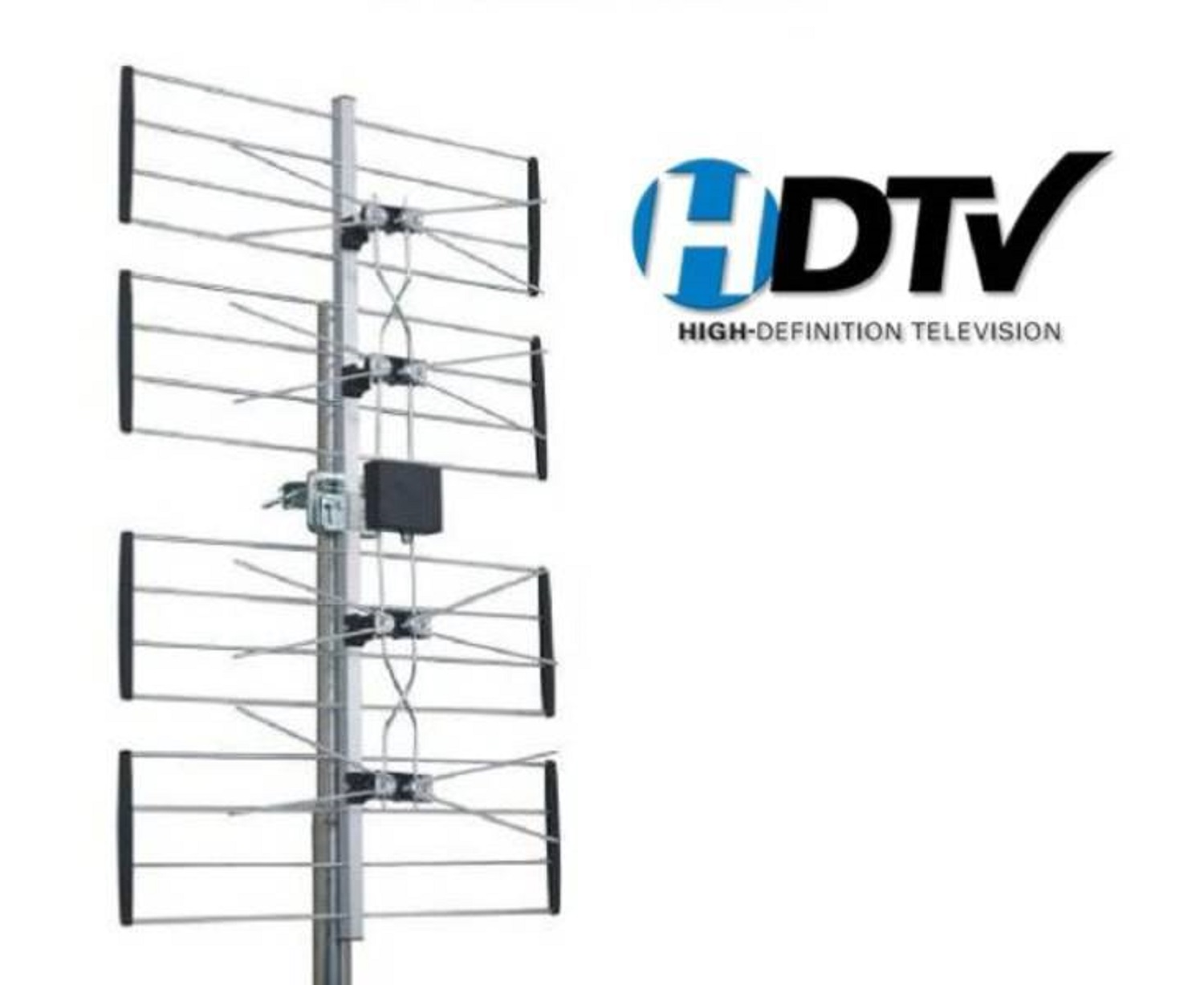 Quality Uhf Outdoor Hd Tv Digital Antenna 4 Bay Hd Ota