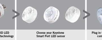 Keystone Smart Port LED Sensors