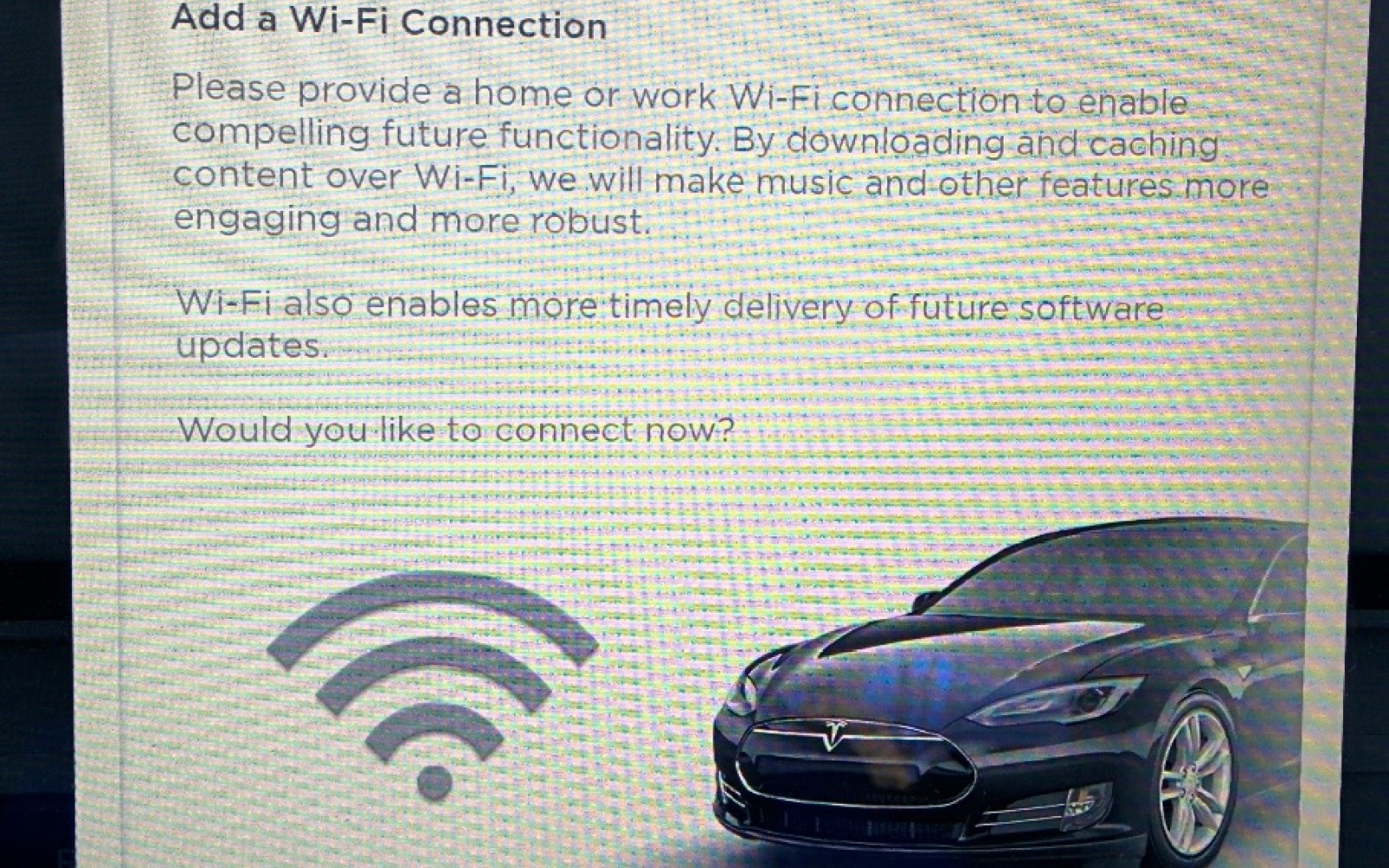 Future Tesla Model S Functionality To Include Caching