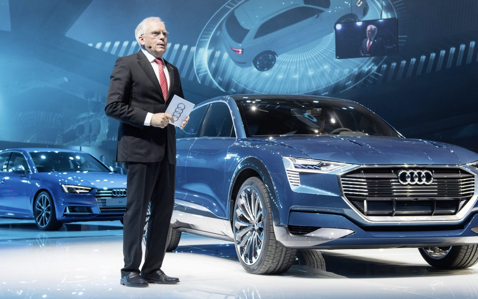 audi announces an electric vehicle push in china, will introduce 5