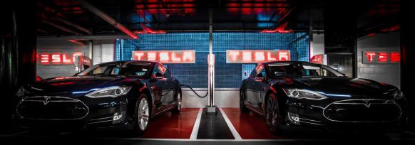 Tesla underground supercharger london