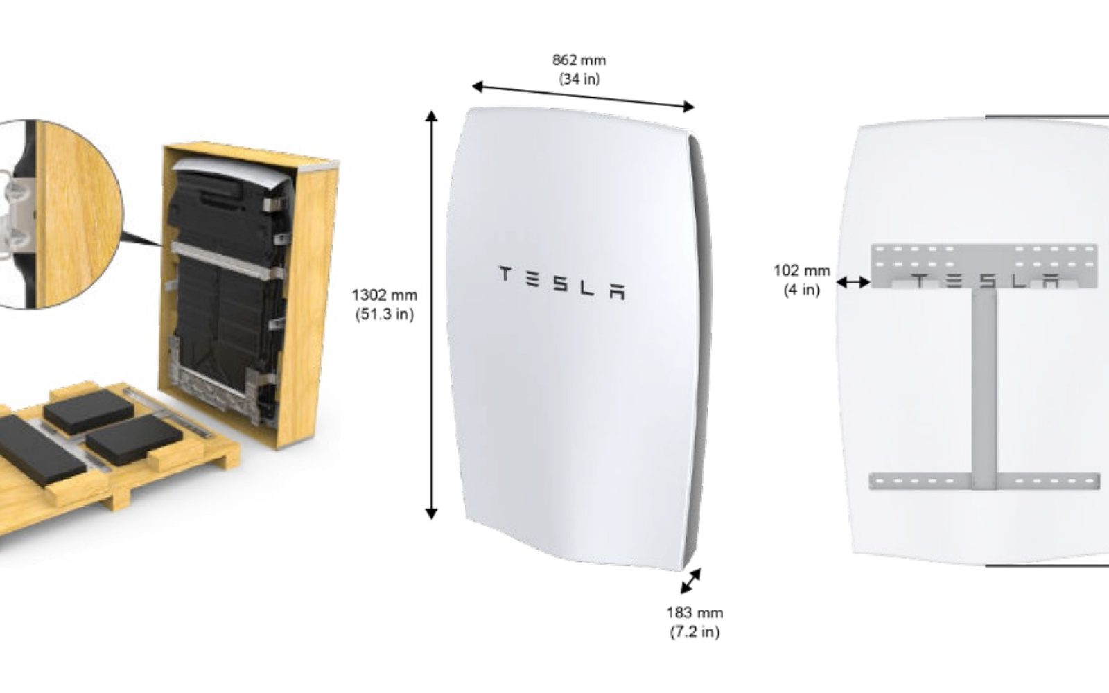 How To Install A Tesla Powerwall Step By Instructions Electrek Wiring Diagram For Model S