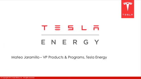 Jaramillo Tesla Energy 1