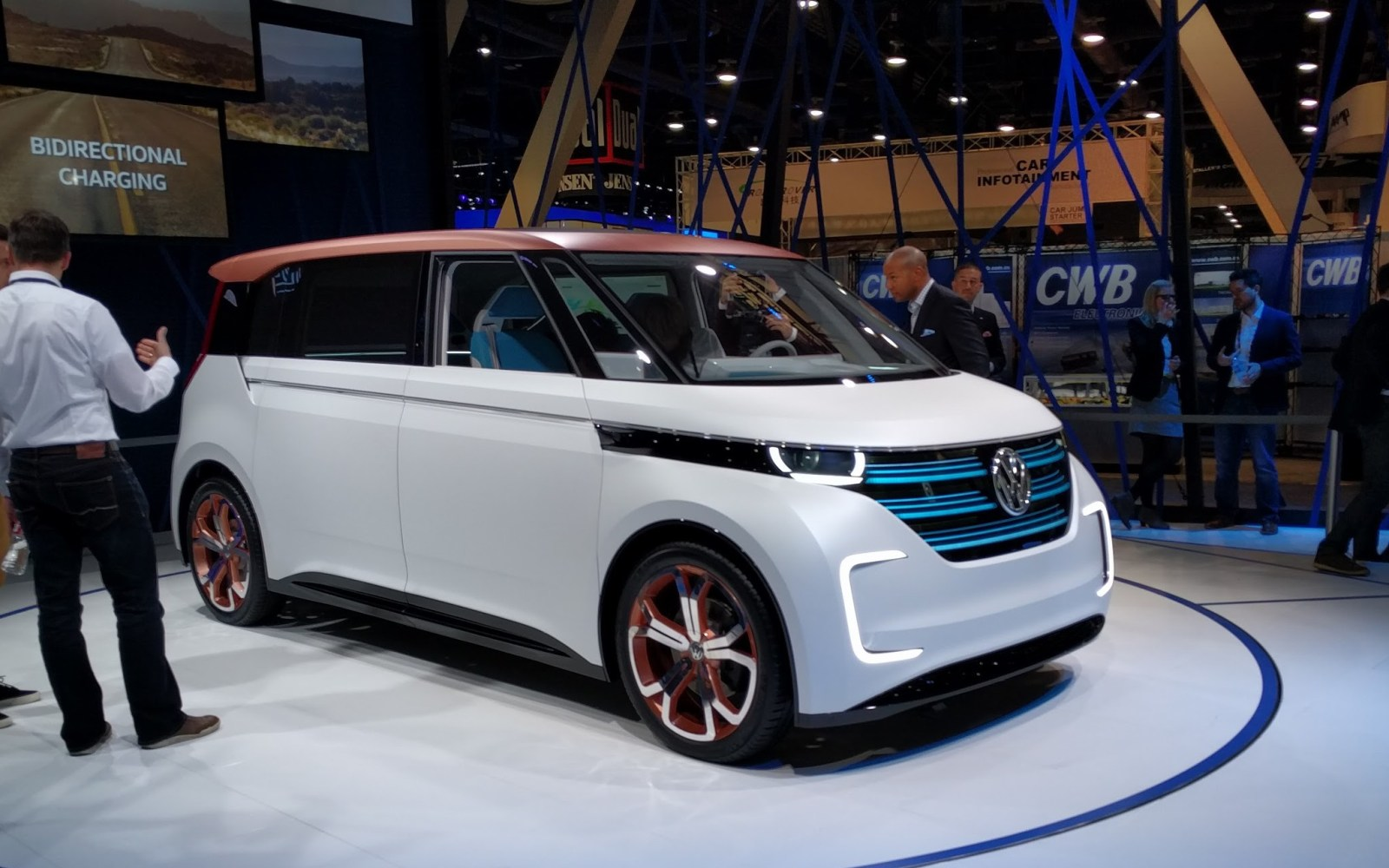 VW is actually going to make that UGGL-E Electric VW bus ...
