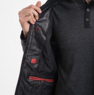 Men's Modena Leather Jacket 6