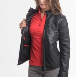 Women's Modena Leather Jacket 4