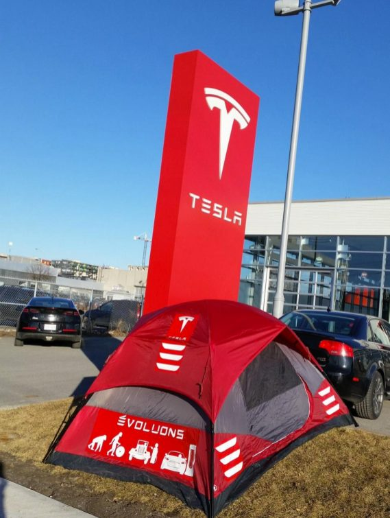 Montreal Tesla store 2