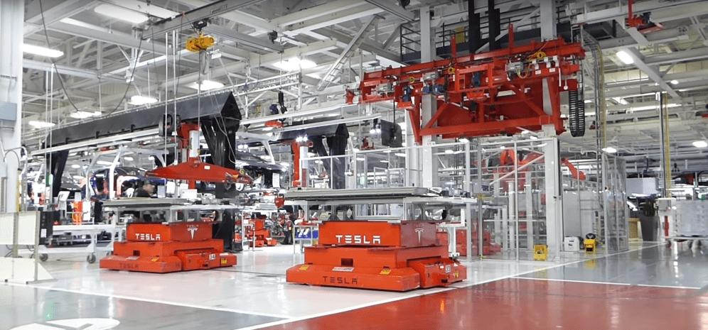 Tesla Fremont factory 10