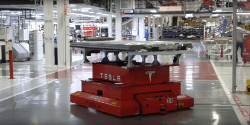 Tesla Fremont factory 11