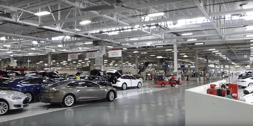 Tesla Fremont factory 16