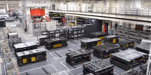 Tesla Fremont factory 3