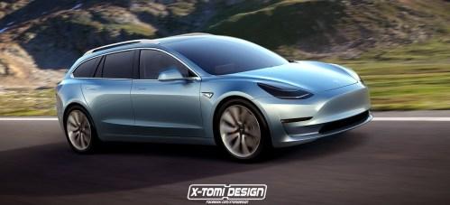 Tesla Model 3 Sportwagon Prototype