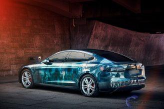 zombie Tesla Model S 4