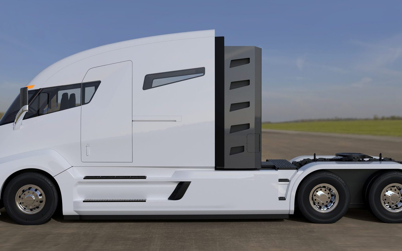 Tesla Semi: truck drivers will still be needed for 'a few years', says CEO Elon Musk