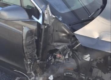 Model X crash Montana 2