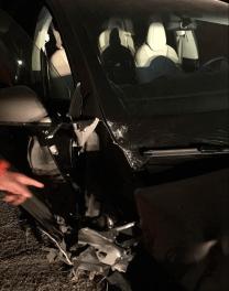 Model X crash Montana 6