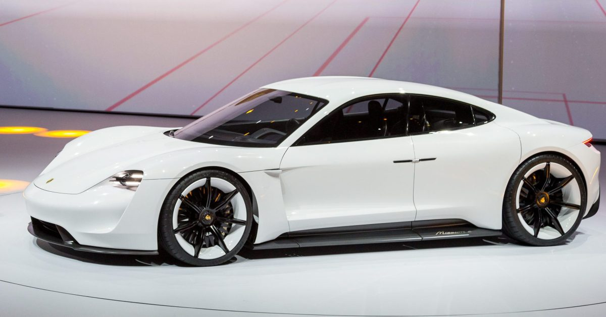 Porsche changes its mind on electric vehicles, plans 50% of its production to be electric within 6 years - Electrek
