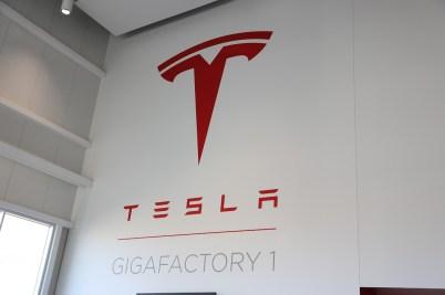 Seth at Gigafactory 1 - 1
