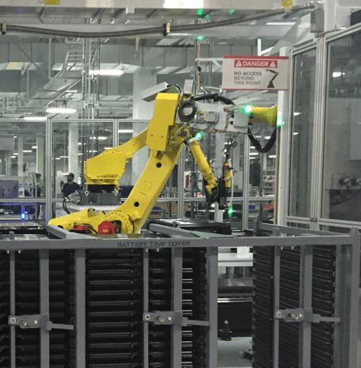 Tesla Gigafactory robot 2