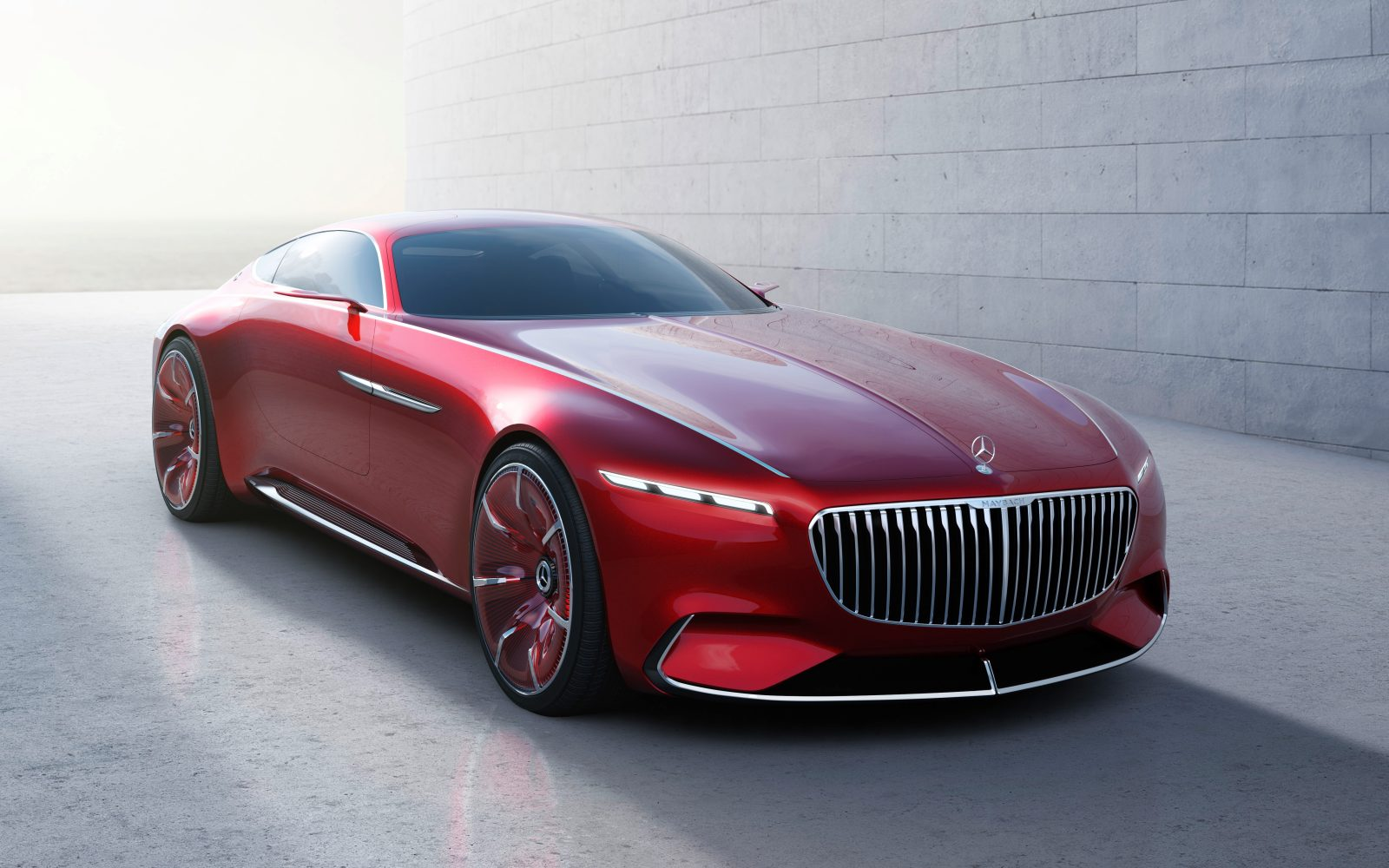 Mercedes unveils new all-electric luxury coupé concept with
