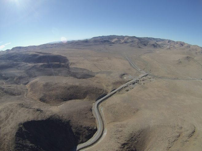 New highway south of the Gigafactory
