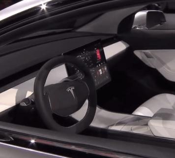 Tesla Model 3 screen 2