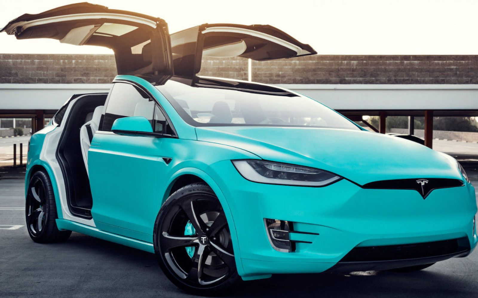 Tesla P90d For Sale >> For sale: Tesla Model X P90D, Tiffany robin's egg blue edition $188K | Electrek