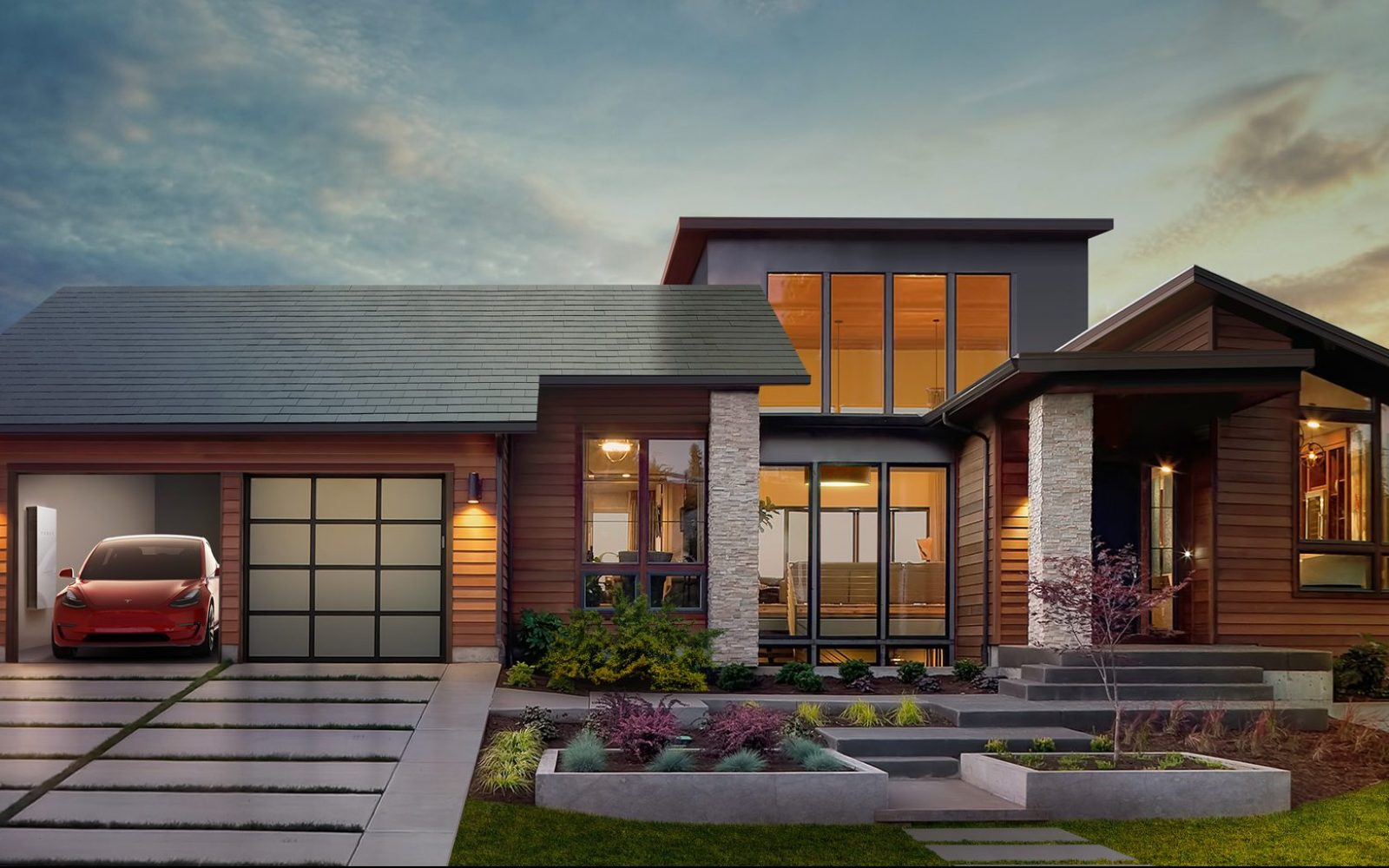 Tesla releases more details about its Solar Roof agreement with Panasonic at 'Gigafactory 2'