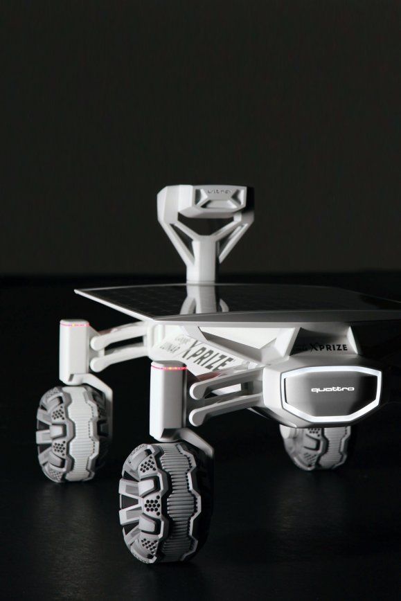 The Audi lunar quattro